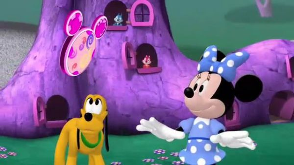 MINNIE: Just call woodles for a mouseketool