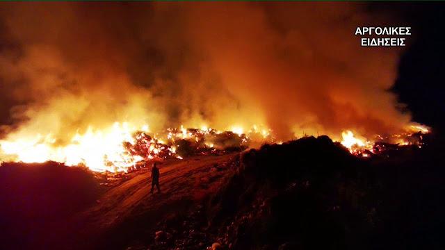 Μεγάλη προσοχή: Η Αργολίδα σε υψηλό κίνδυνο για πυρκαγιές την Παρασκευή 9/7