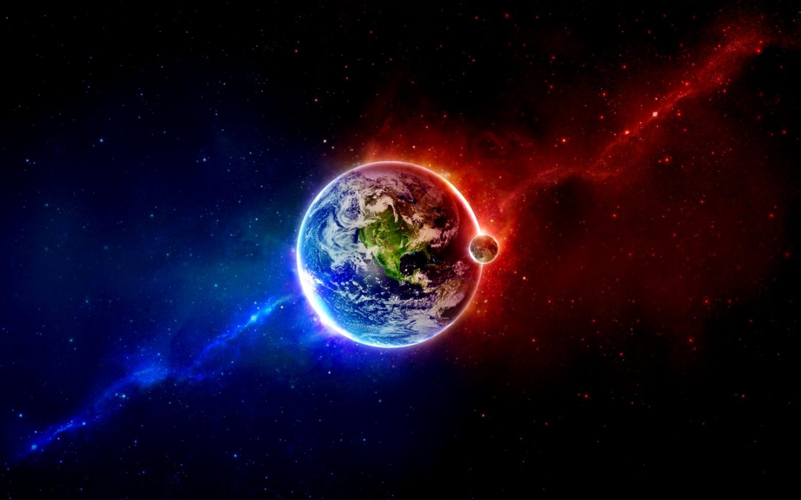 3d Space Background Wallpaper: World 3D Space Cool Wallpapers Hd