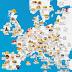 Este mapa mostra os melhores queijos do mundo. Os Açores estão incluídos.