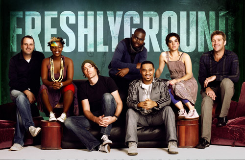 Freshlyground is an award winning South African band