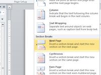 Cara Format Nomor Halaman Berbeda Di Tiap Bagian Dokumen