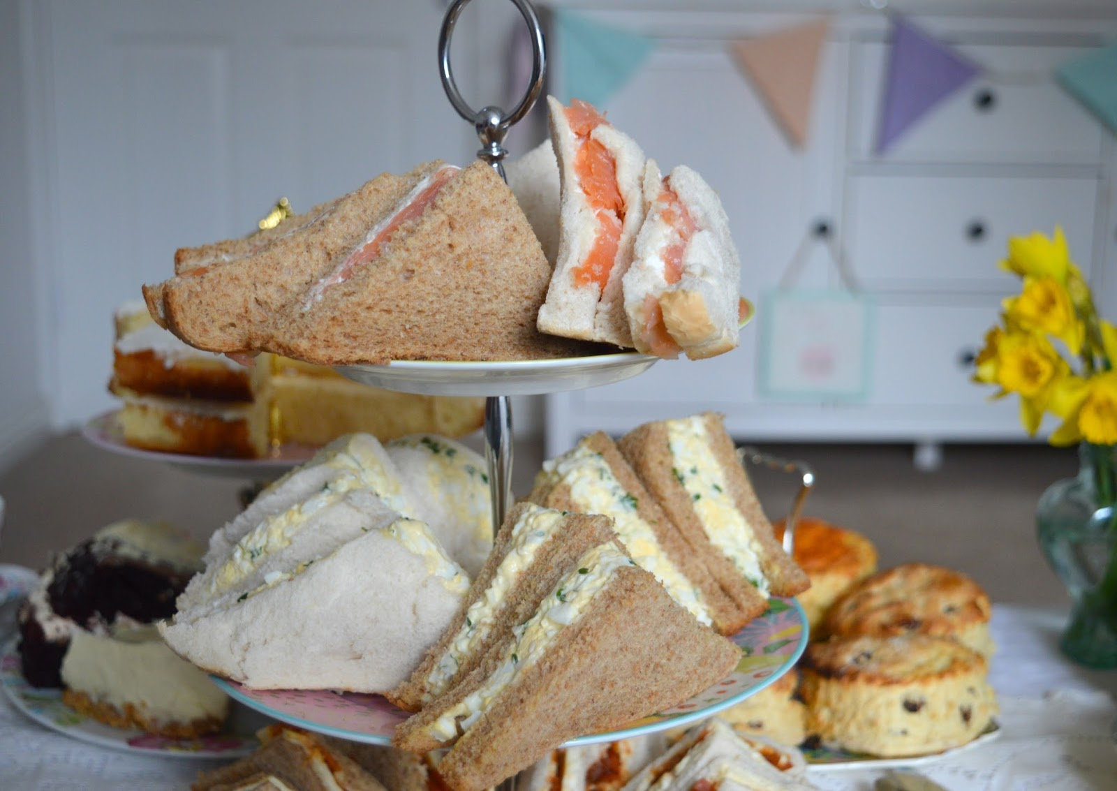 Party at Home with Mrs Dellow's Delights North East Afternoon Tea Delivery Service