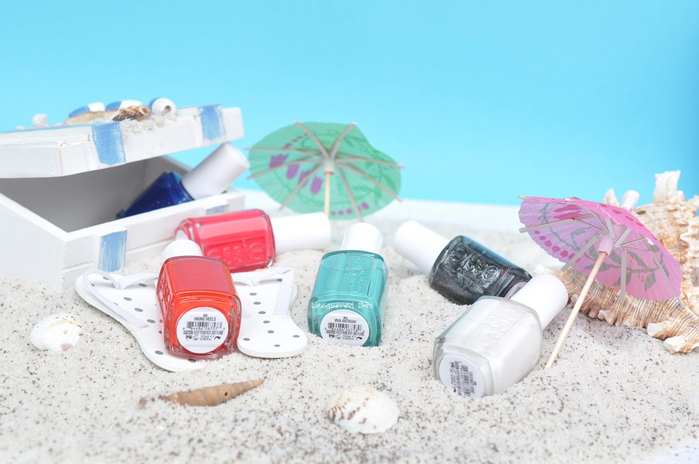 Essie Summer 2016 Viva Antigua! Collection Swatches & Review