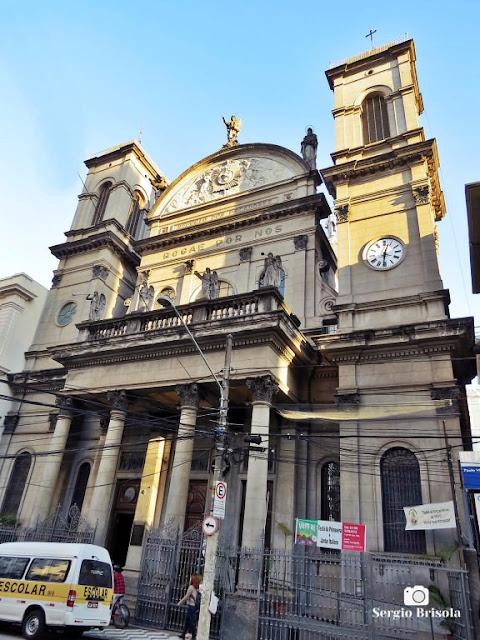Vista ampla da Paróquia Imaculado Coração de Maria - Vila Buarque - São Paulo