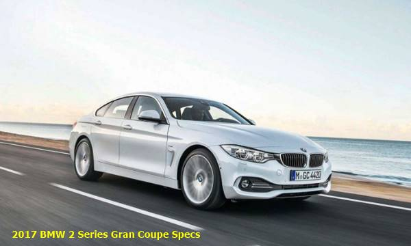 2017 BMW 2 Series Gran Coupe Specs