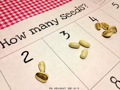 Printable Activity for Learning with Seeds from The Educators' Spin On it