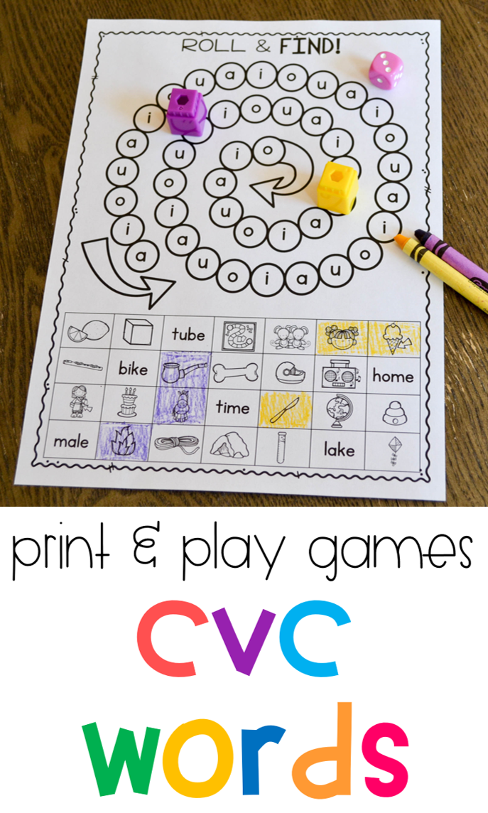 It's just a graphic of Simplicity Printable Phonics Games