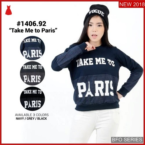 BFO155B37 BAJU Model SWEATER ATASAN Jaman Now MURAH BMGShop