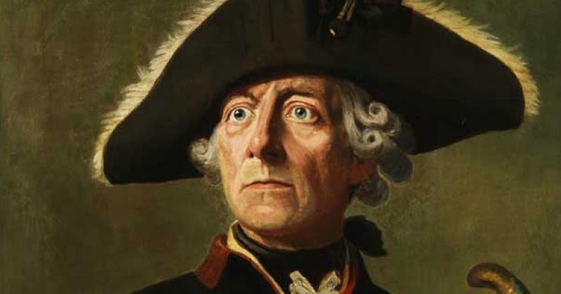 relationship between frederick the great and voltaire