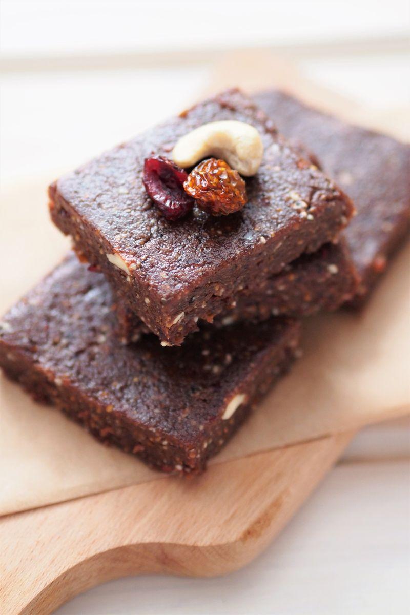 przepis na czekoladowe batoniki mocy