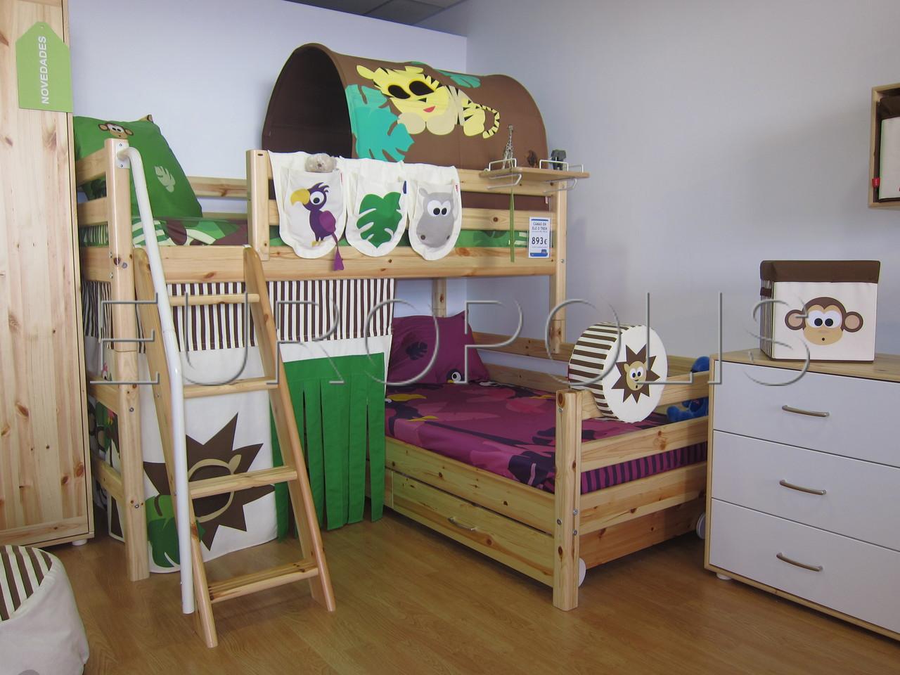 Flexa literas y triliteras for Fabrica de camas infantiles