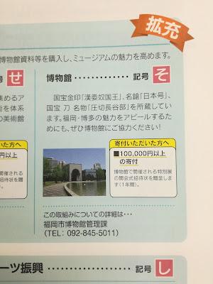 ふくおか応援寄付金を通じて福岡市博物館の運営にご協力をお願いします!