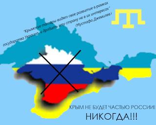 Как только из Киева слышится позитив в отношении крымских татар, Москва раздражается