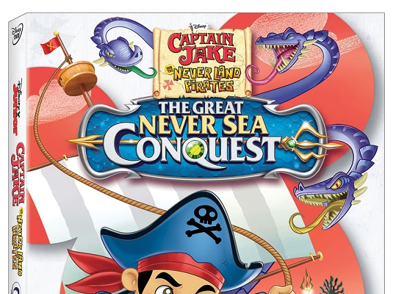 Captain Jake And The Never Land Pirates - Great Never Sea Conquest DVD