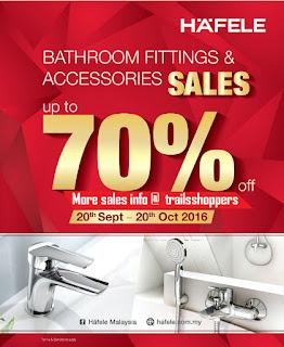 H'A'FELE Showroom Bathroom Sale 2016