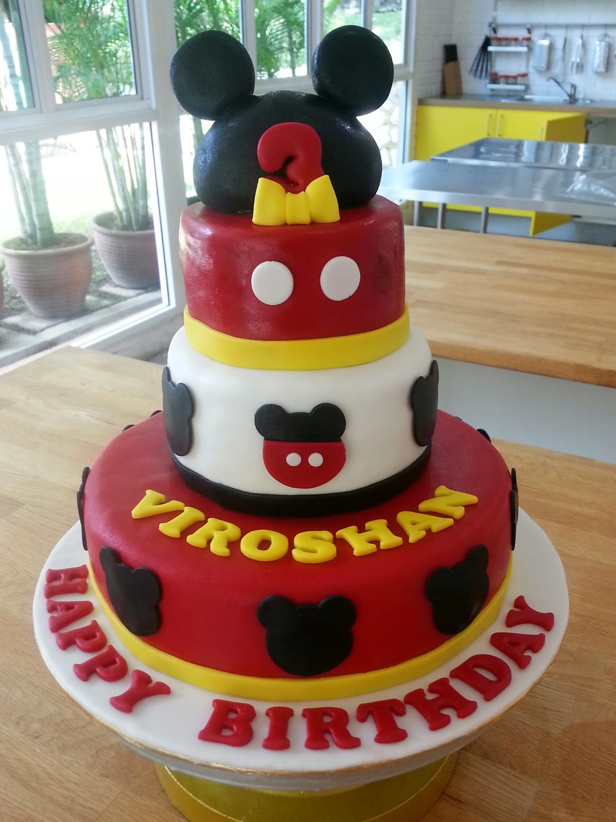 Custom Made Birthday Cake Johor Bahru