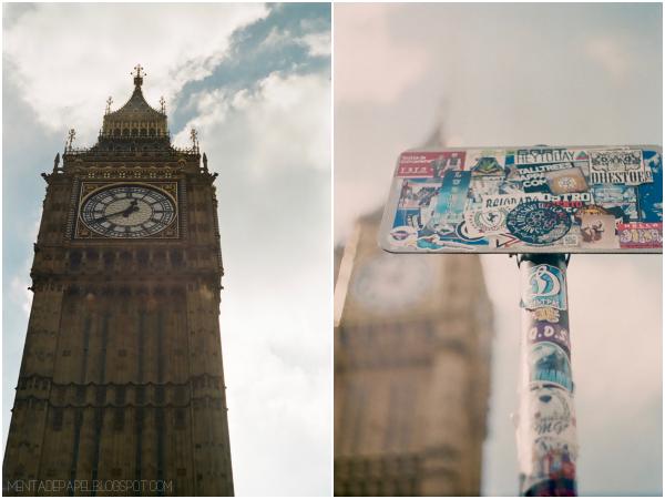 El Big Ben en Londres.