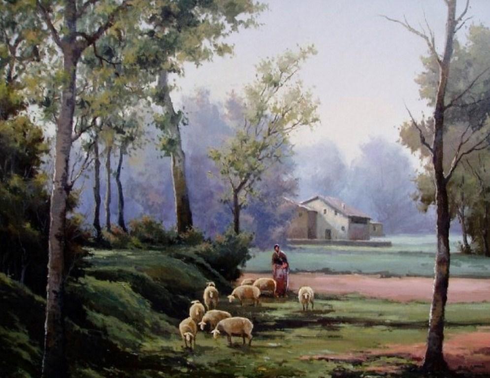 Imágenes Arte Pinturas: PINTURAS AL ÓLEO PAISAJES