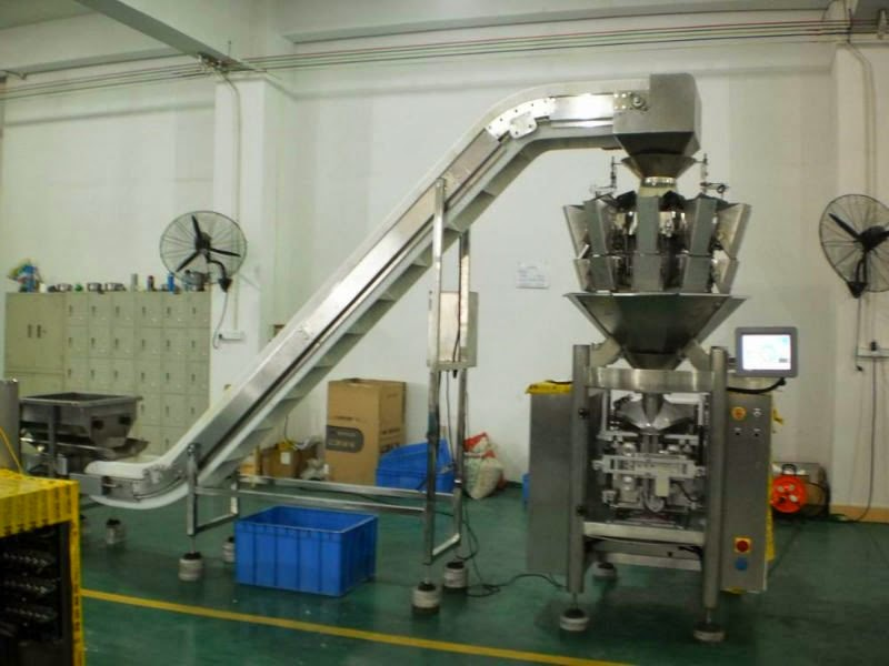 multi heads electrical weigher packing machine vertical packaging Verticale Verpackungsmaschine