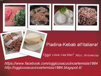piadina kebab italiana miss artemisia oggi cosa cucino
