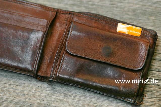 www.miriD.de: Ein neues Portemonnaie   A new wallet