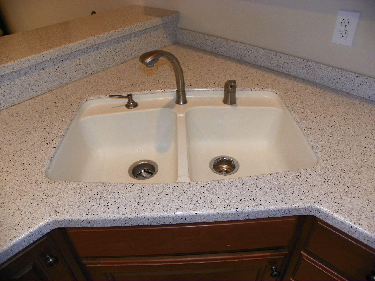 The Solid Surface Countertop Repair Blog Changing From One Solid Surface Sink To A Different Model Of Solid Surface Sink