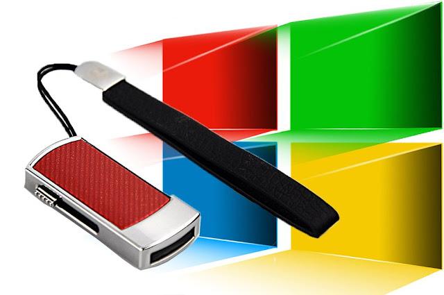 Ilustrasi Menginstal Windows XP / 7 / 8 / 10 dengan Menggunakan Flashdisk