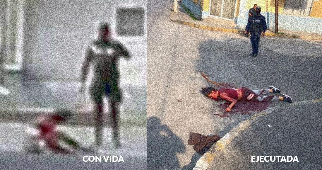 Policías asesinos de Veracruz ejecutaron a dos menores de 14 y 16 años, así lo evidencian fotografias