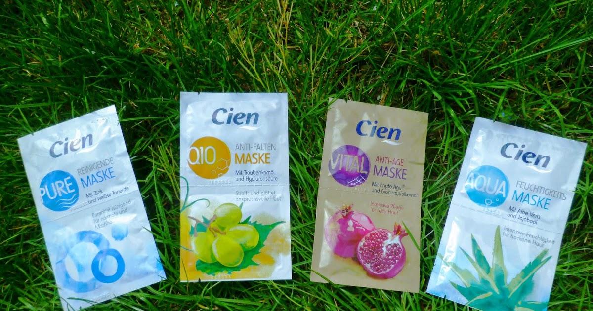 Cien Aqua Feuchtigkeitsmaske. Увлажняющая маска с экстрактом Aloe Vera и маслом жожоба.