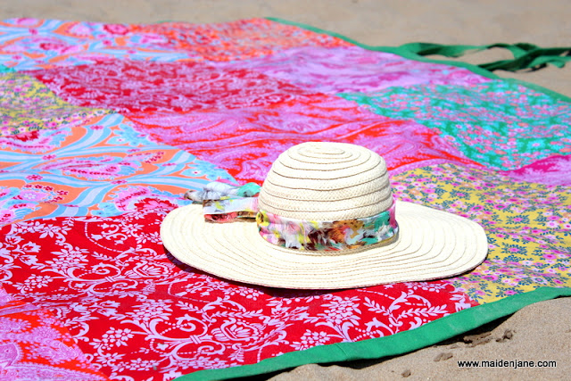Oversized Beach (and Picnic) Blanket – for Me!