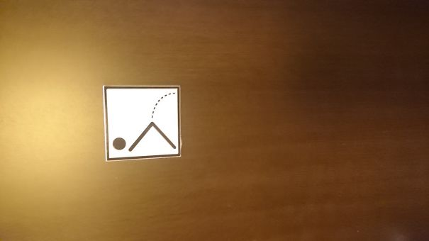 20+ Of The Most Creative Bathroom Signs Ever - @vakvarjú Újpest