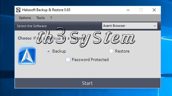 download Hekasoft program Backup & Restore for free