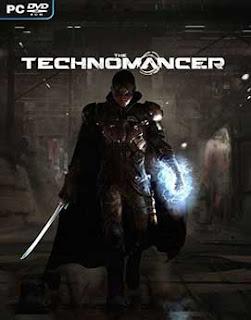 غلاف لعبة مجموعة محاربين وأساسين على سطح المريخ The Technomancer