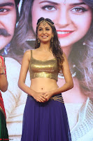 Malvika Raaj in Golden Choli and Skirt at Jayadev Pre Release Function 2017 ~  Exclusive 121.JPG