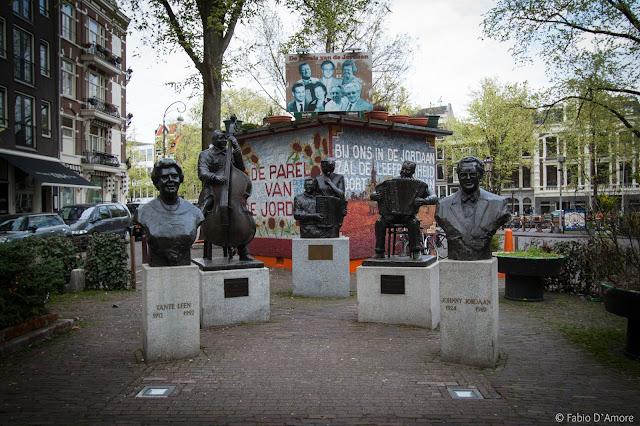 Monumento musicisti ad Amsterdam