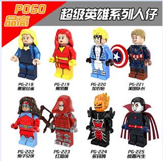 Dormammu Dark Phoenix Captain America PG224 for Lego Customer Minifigure