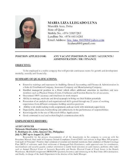 Contoh Curriculum Vitae Mahasiswa Dalam Bahasa Inggris Status