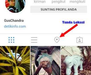 instagram akses lokasi