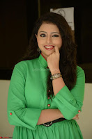Geethanjali in Green Dress at Mixture Potlam Movie Pressmeet March 2017 056.JPG