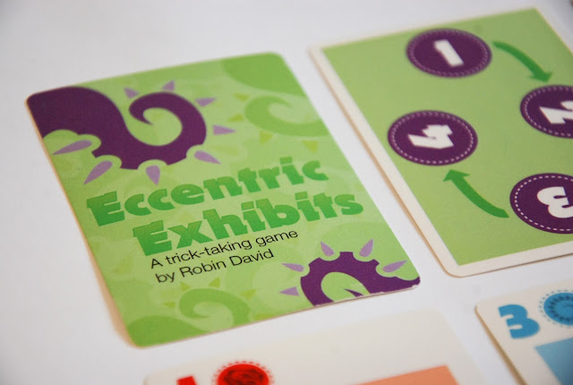 Eccentric Exhibits card game by Robin David