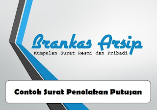 logo contoh surat penolakan putusan