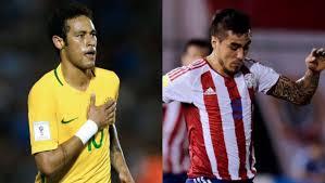 Brasil vs Paraguay en Eliminatorias hacia el Mundial de Rusia 2018