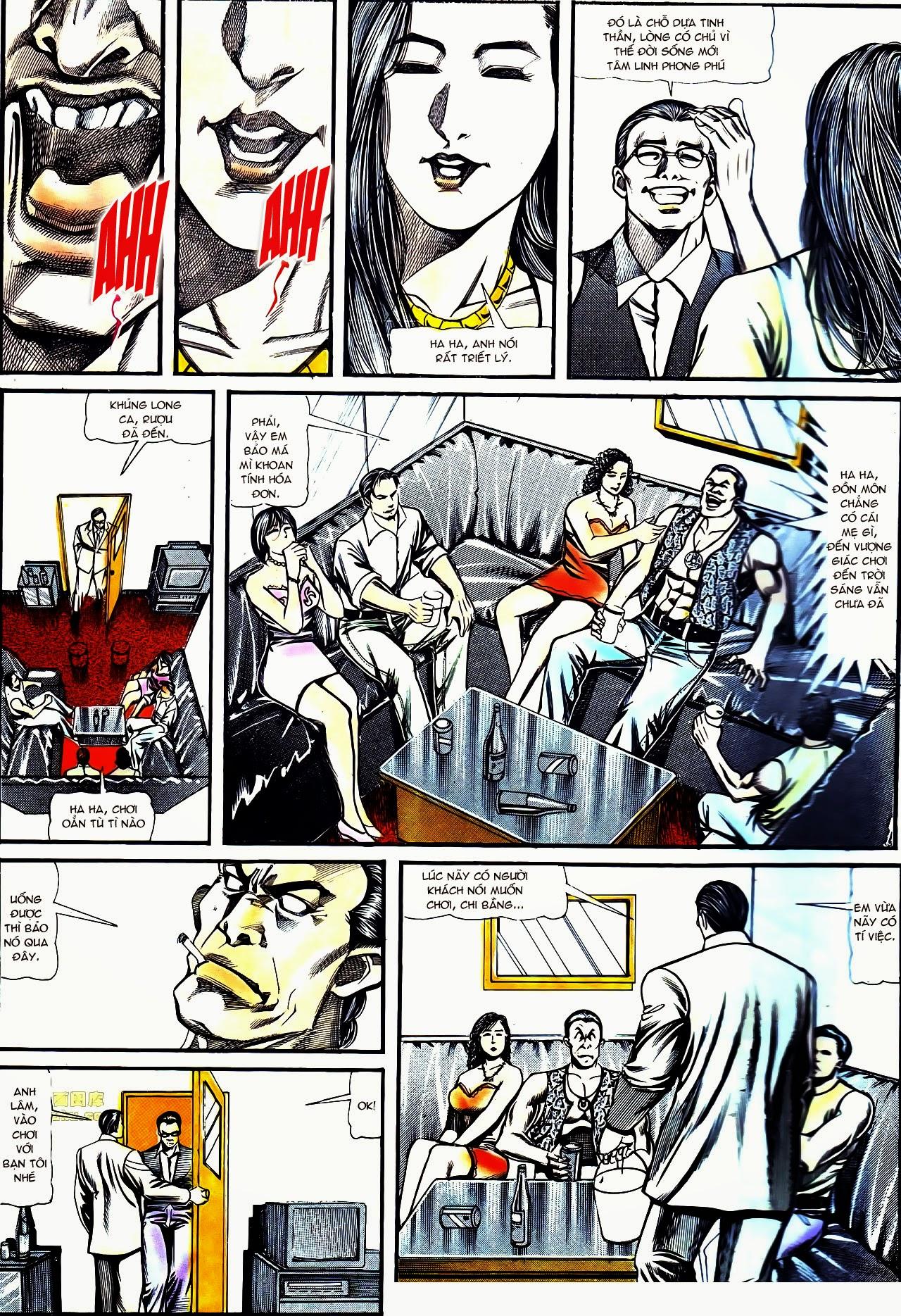 Người Trong Giang Hồ chapter 122: phố dục lạc trang 3