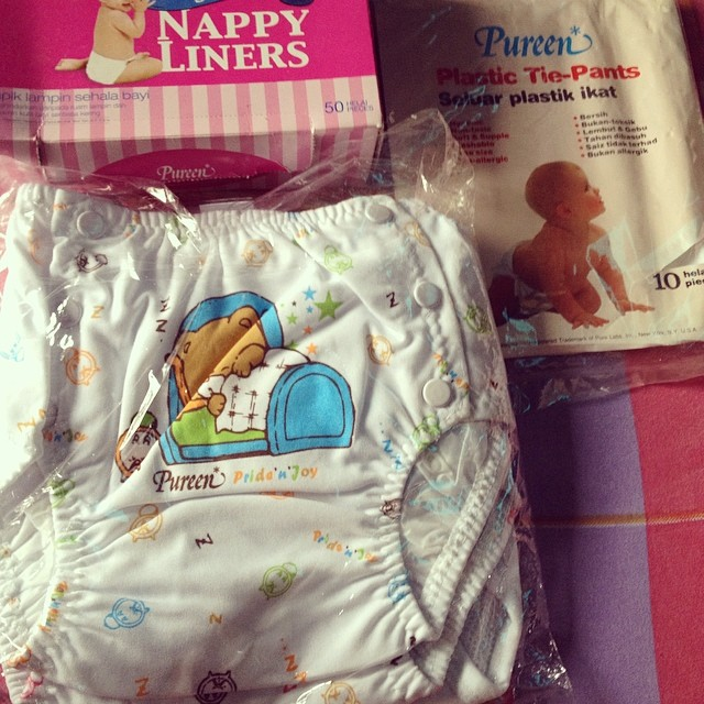 Cloth Diaper Cover, Nappy Liners & Plastic Tie Pants