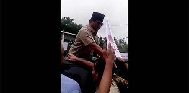 Ada Warga Hampir Terjatuh, Alasan Prabowo Tegur Tim Pengamanan