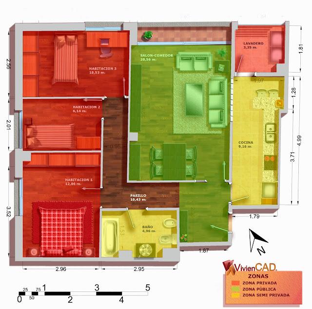 plano de zonas viviencad