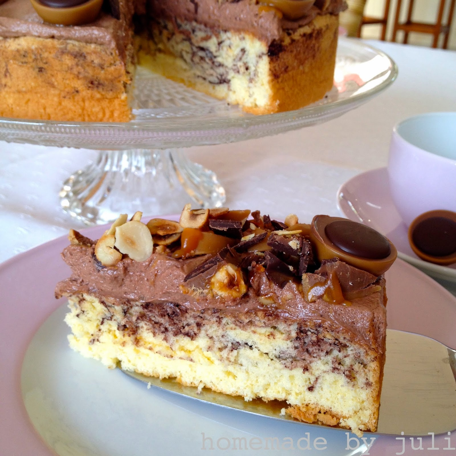 Homemade By Juli Toffifee Torte