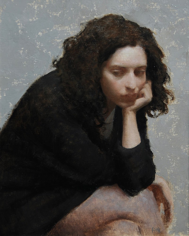 Portrait Paintings by Richard Greathouse from Italy.