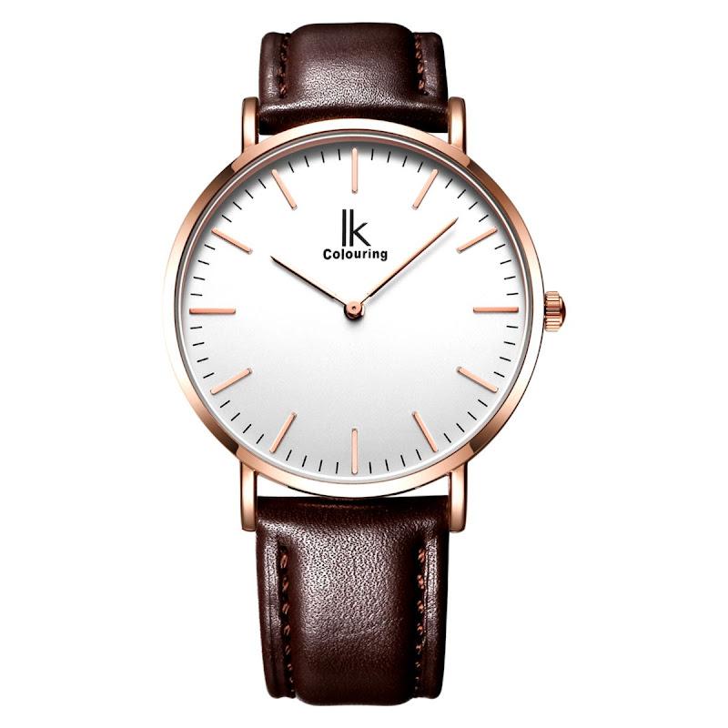 f2908f722234 ... Lujo Superior de la Marca de Moda Correa de Cuero Genuino Reloj de Los  Hombres de Negocios. Evaluar su precio barato con mejor precio tienda en  línea.